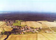 Letecké snímky obce Jaroslav